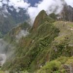 Machu Picchu med Urubambafloden nedanför.