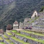 Odlingsterrasser i Machu Picchu.