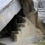 Det kungliga mausoleet i Machu Picchu.
