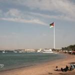 Akaba med världens största flagga? 20x40m