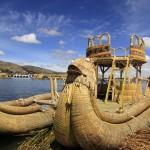 Vassbåt på Titikakasjön
