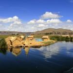 Vassöar i Titikakasjön.